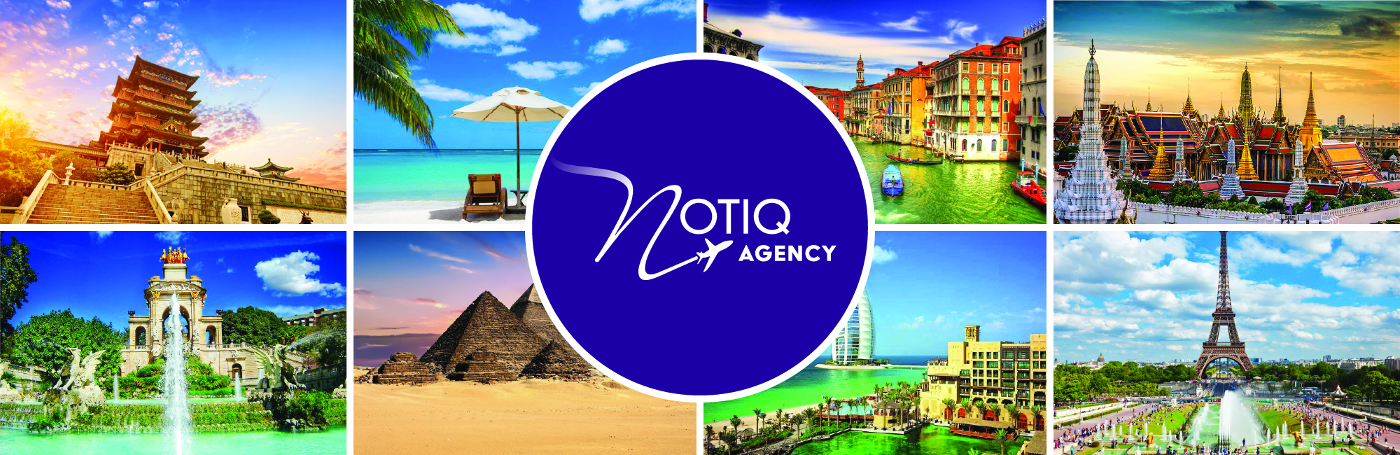 Notiq Agency™ - Full-Service Travel Company